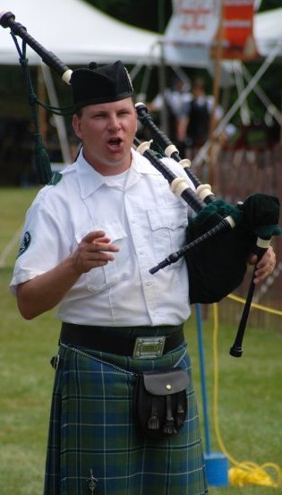 Pipe Major Bill Collins